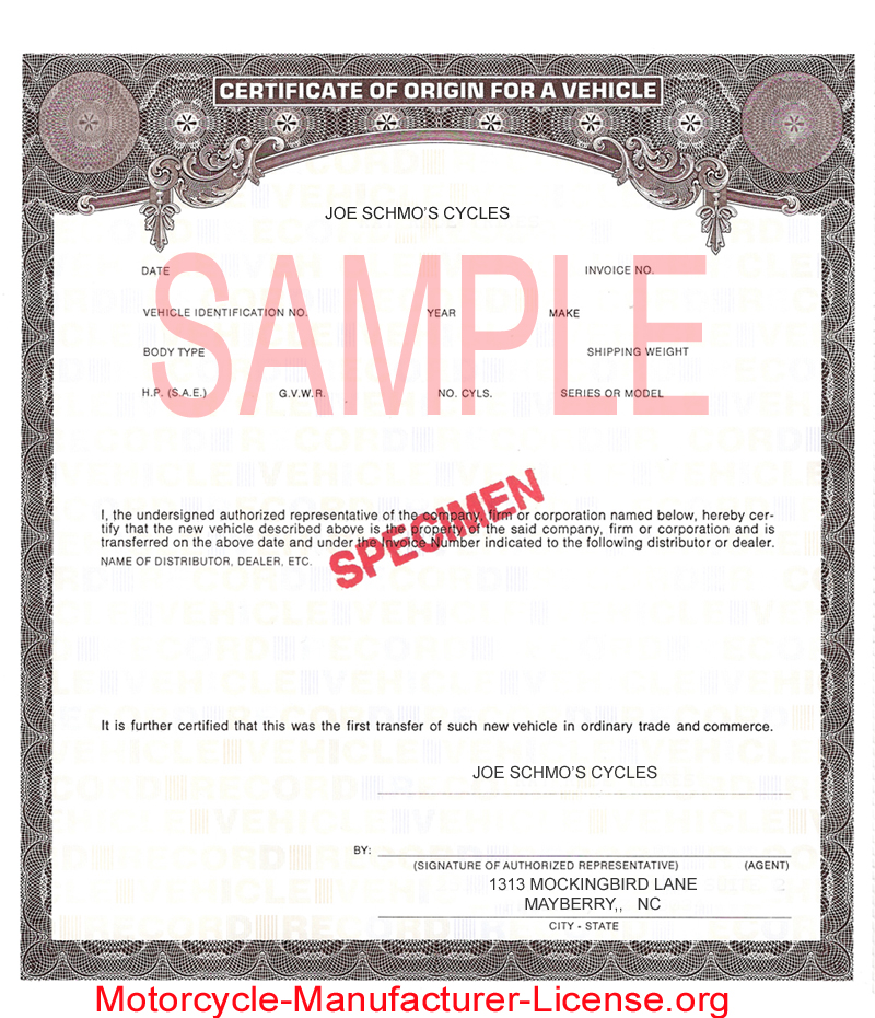 word 2013 certificate of origin